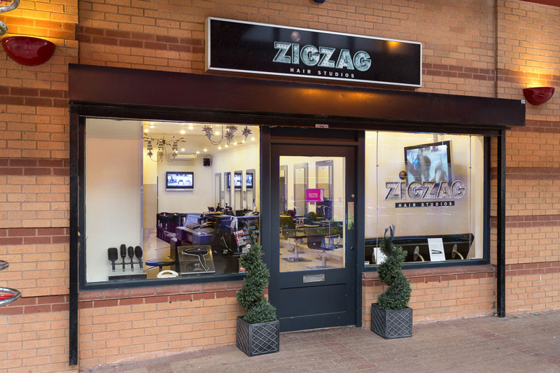 Zigzag hair studios zigzag hair studio westcroft your for Hair salon companies