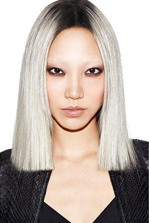 Grey Blonde Hair