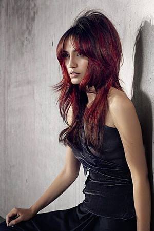With Big Hair Colour Trends And Will Create The Perfect Copper Burgundy Plum Shade To Give You A Bold Fun For Spring Summer 2017